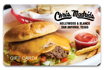 Chris Madrids Physical Gift Card